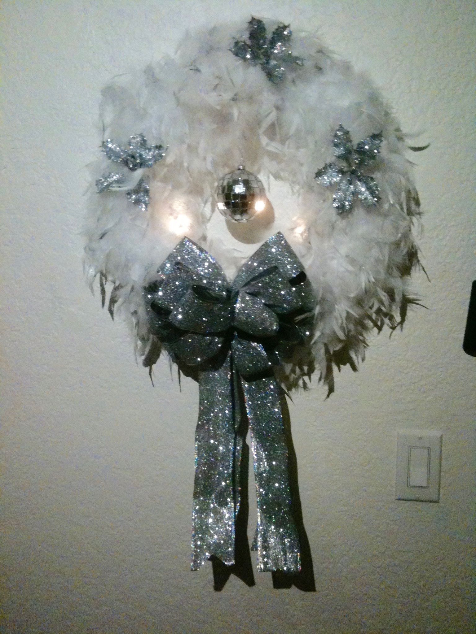 Disco Wreath