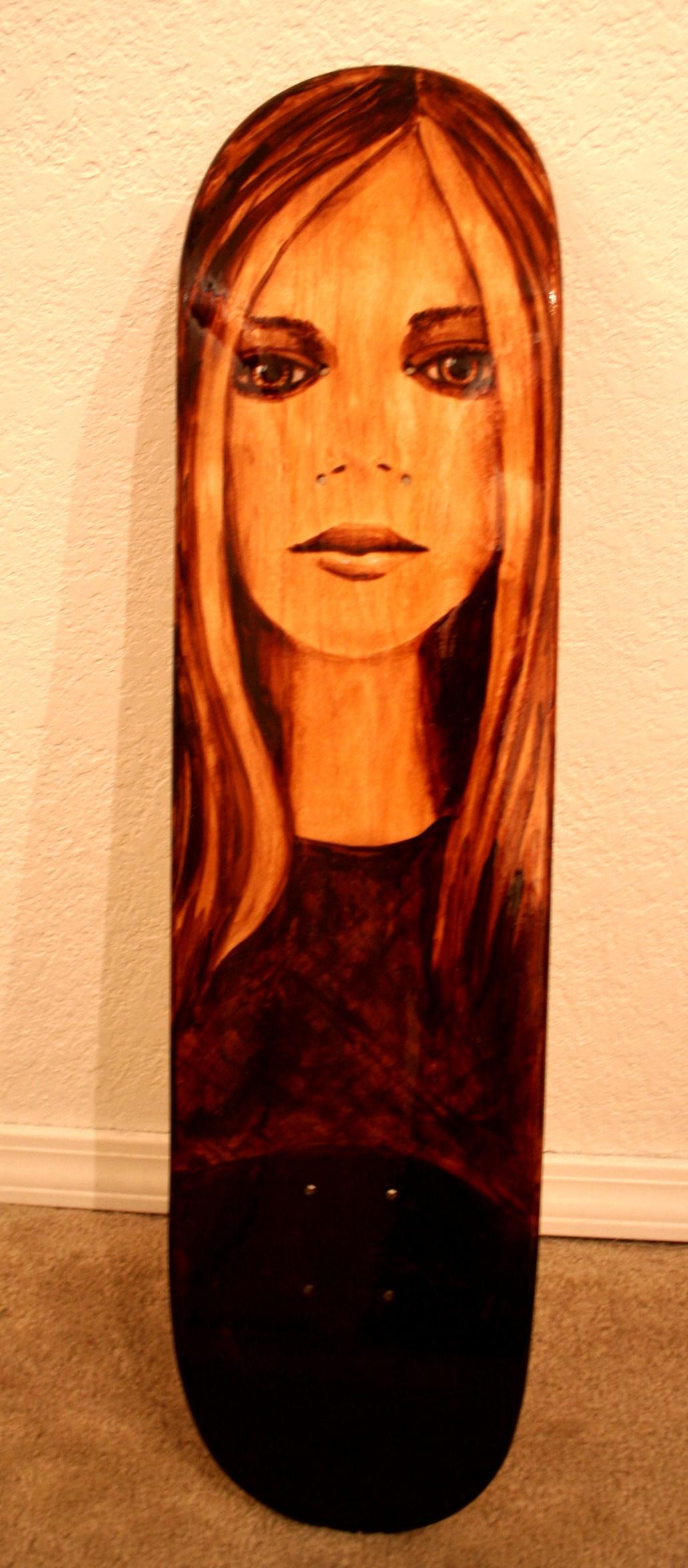 Avril Lavigne Skateboard