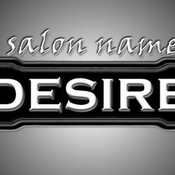 a salon named DESIRE