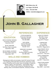 John Gallagher Resume JPG