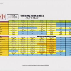 KA Schedule