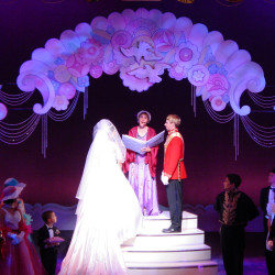 Wedding portal for 'Cinderella'