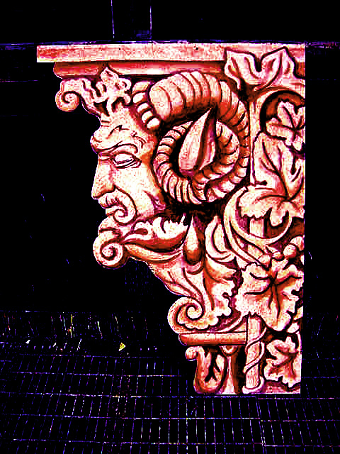 rams head painting